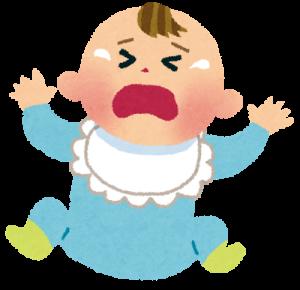 赤ちゃんの機嫌が悪い