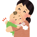 赤ちゃんがしゃっくりでミルクや母乳を吐く。原因と止め方は?