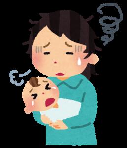 赤ちゃん癇癪