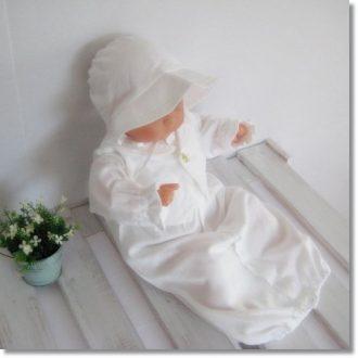 タキシードデザインベビードレス