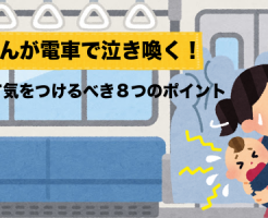 赤ちゃん電車移動